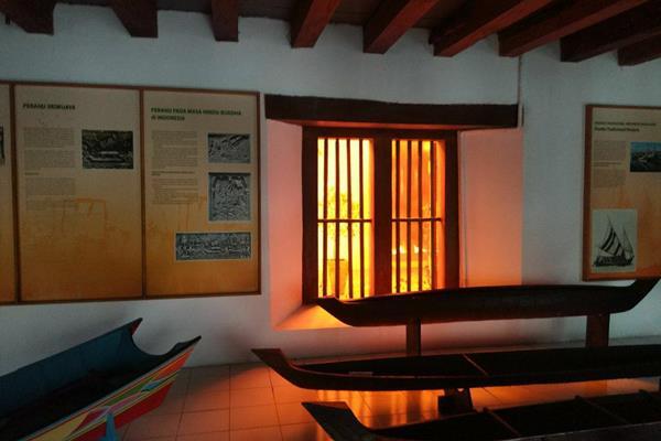 Museum Bahari yang berada di Jalan Pasar Ikan, Penjaringan Jakarta Utara - Dok.KPBMI