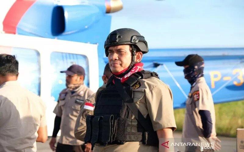 Kepala Satgas Humas Ops Nemangkawi Kombes Pol. M Iqbal Alqudusy. - Antara/Satgas Ops Nemangkawi