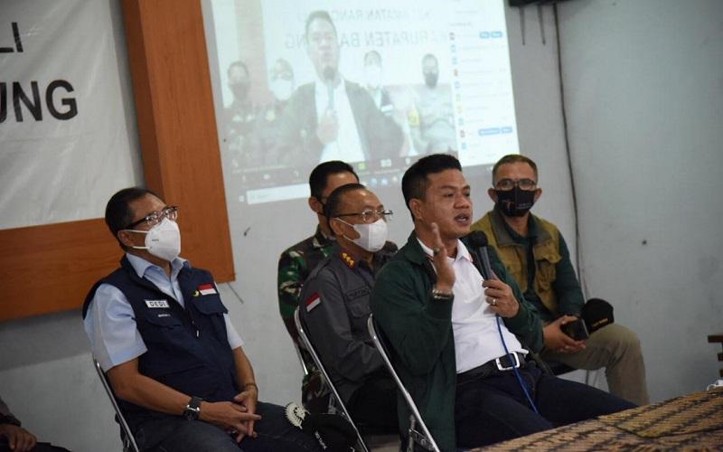 Bupati Bandung Dadang Supriatna berbicara mengenai penyekatan di kawasan wisata Kabupaten Bandung