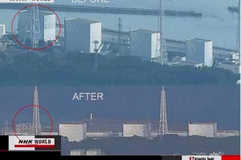 Kondisi sebelum dan setelah kebocoran Fukushima - NHK World