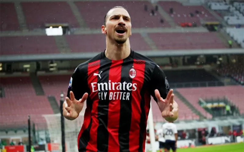 Ujung tombak AC Milan Zlatan Ibrahimovic./Antara - Reuters