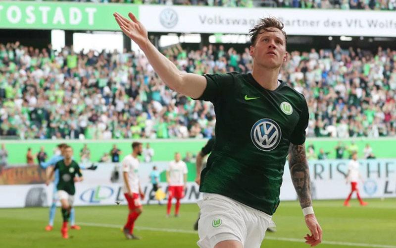 Striker Wolfsburg Wout Weghorst - Bundesliga.com