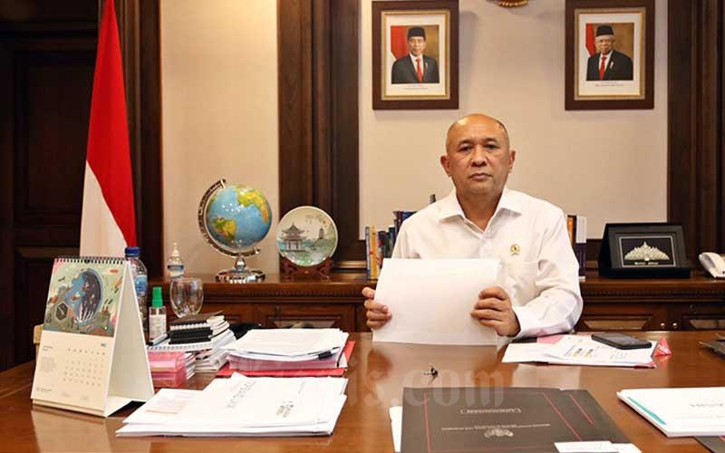 Menteri Koperasi dan Usaha Kecil dan Menengah (UKM) Teten Masduki di Jakarta, Jumat (19/6/2020). Bisnis - Eusebio Chrysnamurti
