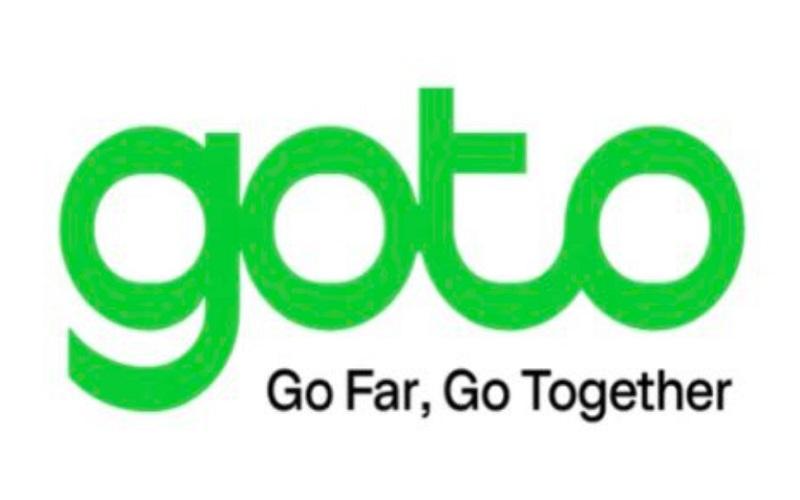Logo GoTo, perusahan hasil merger Gojek dan Tokopedia  -  Twitter