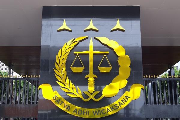 Logo Kejaksaan RI di Gedung Kejaksaan Agung, Jakarta. - Bisnis/Samdysara Saragih