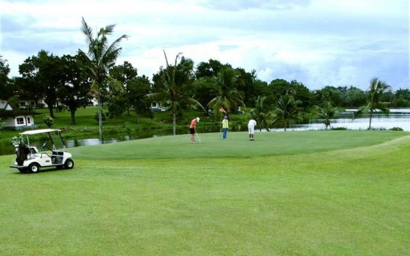 Suasana Sawangan Golf milik PT Pakuan Tbk. (UANG). - Istimewa