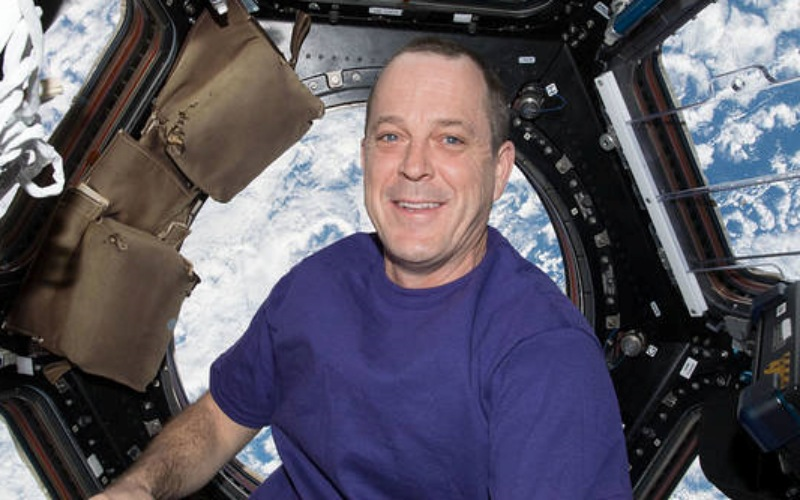 Ricky Arnold saat berada di Stasiun Luar Angkasa Internasional. - Istimewa/NASA