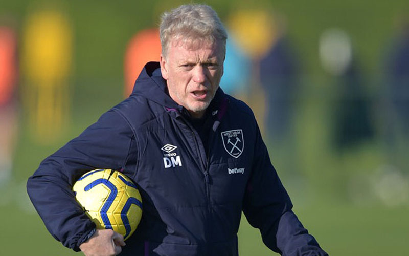 Pelatih West Ham United David Moyes - whufc.com
