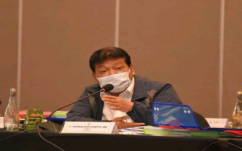 Andreas Eddy Susetyo, Anggota Komisi XI DPR/ F-PDIP. - Ist