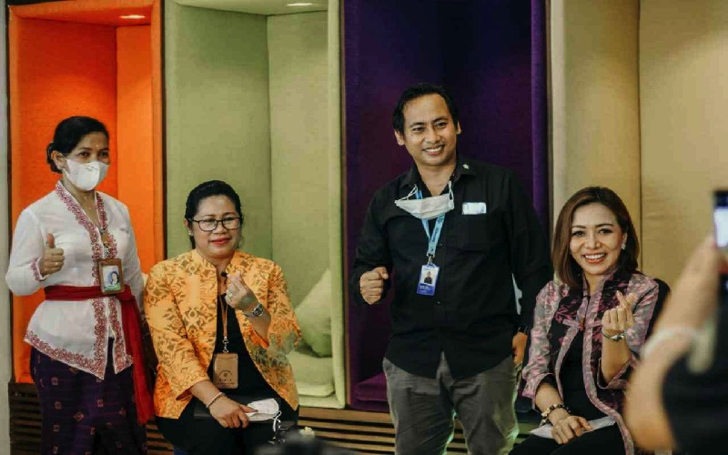 Pembicara di seminar BPD Bali mengajak UMKM peroleh kemudahan modal.bisnis - istimewa