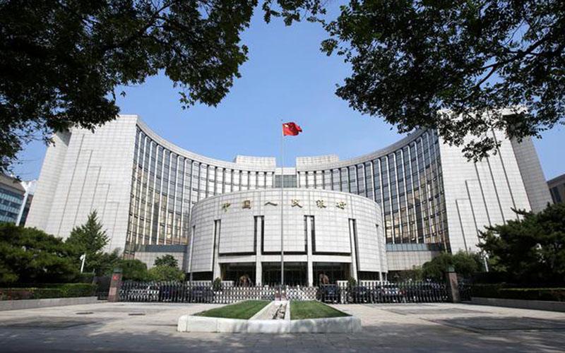 Bank sentral China, People's Bank of China foto 28 September 2018. - Reuters
