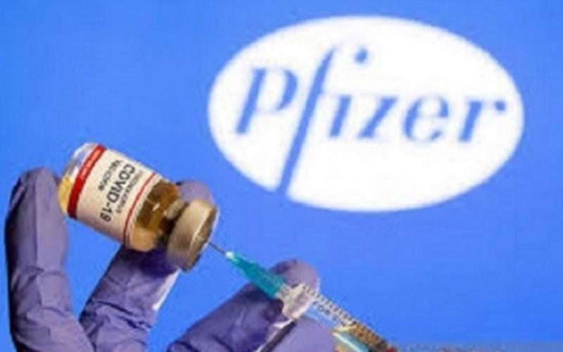 Dokumentasi - Vaksin Covid-19 dari Pfizer/Antara - Reuters/ Dado Ruvic