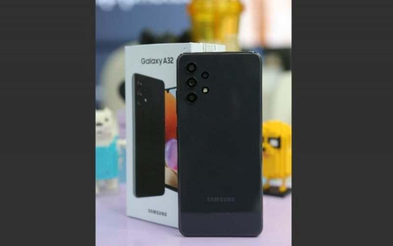 Samsung Galaxy A32. (ANTARA - HO)
