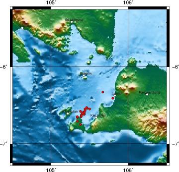 Gempa Selat Sunda - BMKG