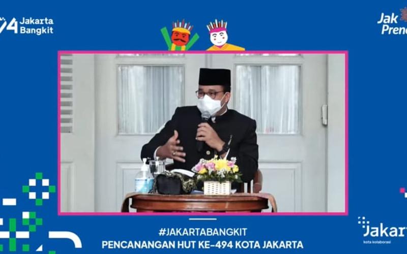 Gubernur DKI Jakarta Anies Baswedan.  - Jakarta