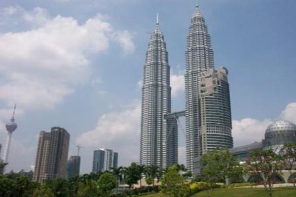 Ilustrasi - Menara Petronas, Ikon Malaysia. - asianpicture.com