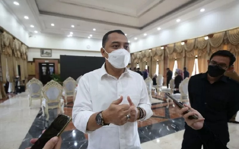 Wali Kota Surabaya Eri Cahyadi. - Antara.
