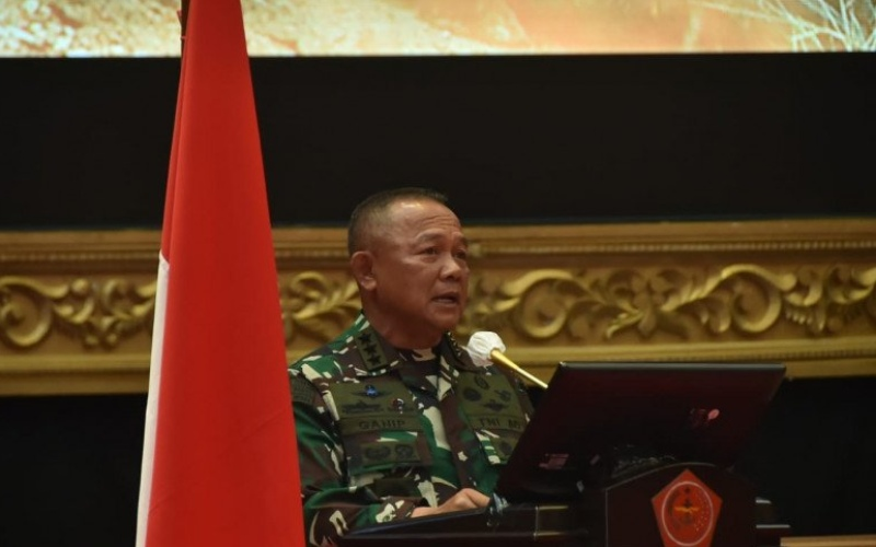 Letjen TNI Ganip Warsito menggantikan Letjen TNI (Purn.) Doni Monardo, sebagai Kepala Badan Nasional Penanggulangan Bencana (BNPB)/Antara - HO/Puspen TNI