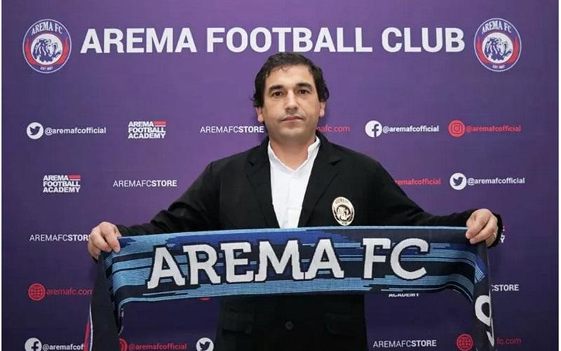 Pelatih Arema FC, Eduardo Almeida - Antara