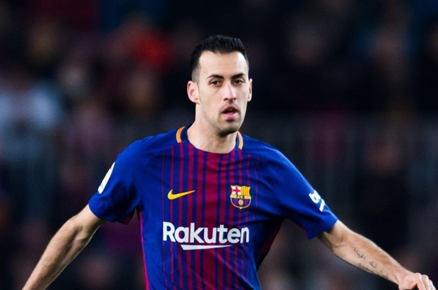 Gelandang Barcelona, Sergio Busquets - FC Barca