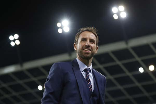 Pelatih Timnas Inggris Gareth Southgate/Reuters - Carl Recine