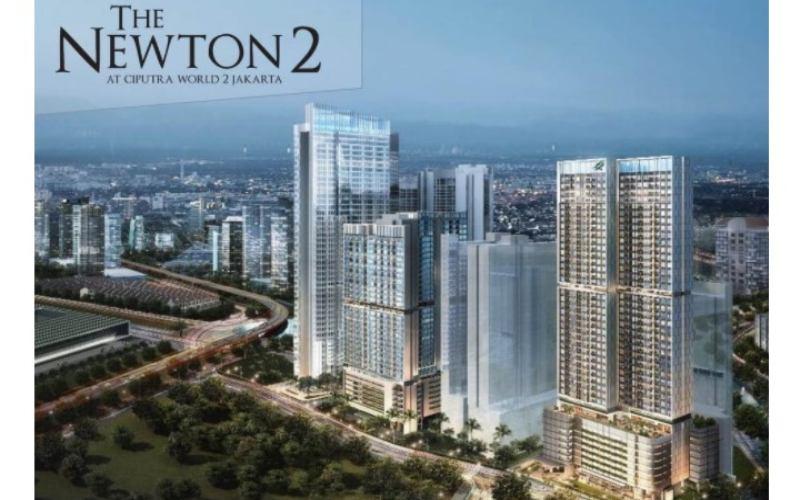Proyek apartemen The Newton 2.  - Dok. www.newton2/ciputra.com