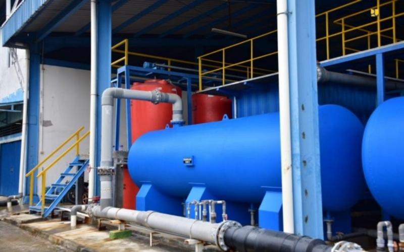 Peralatan penyulingan air asin menjadi tawar. - Kementerian PUPR