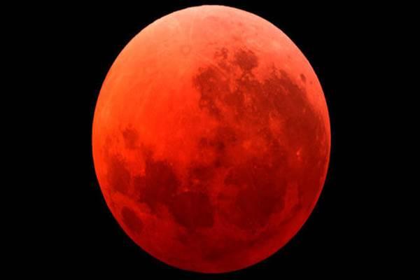 Gerhana bulan total - express.co.uk
