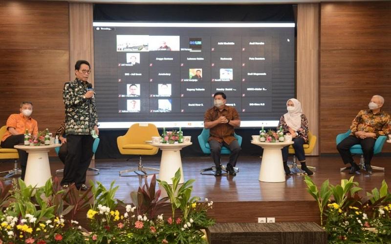 Sosialisasi terkait Strategi Bisnis, Operasional Cabang dan Laboratorium BUMN Jasa Survei kepada unit operasi di daerah DKI Jakarta, Banten dan Jawa Barat.