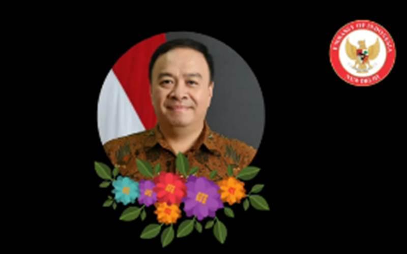 Wakil Dubes RI di India Ferdy Nico Yohannes Piay meninggal dunia. - Instagram/indonesianewdelwi