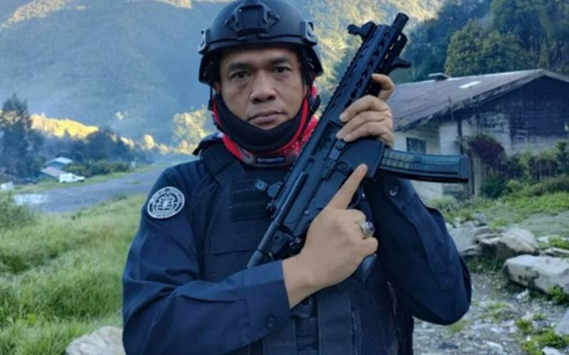 Kasatgas Humas Ops Nemangkawi Kombes M Iqbal Alqudusy./Antara/HO - Humas Satgas Nemangkawi