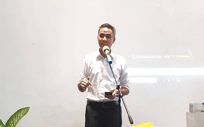 Dirjen Pendidikan Vokasi Kemendikbudristek Wikan Sakarinto membuka acara media gathering dan kunjungan ke SMK 27 Jakarta, Selasa (11/8/2020). JIBI - Bisnis/Mutiara Nabila