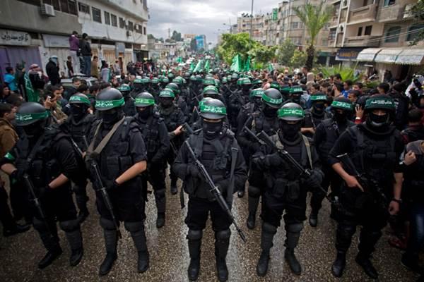 Hamas adalah organisasi Islam Palestina dengan sayap militer Izz ad-Din al-Qassam di wilayah Palestina. - Istimewa