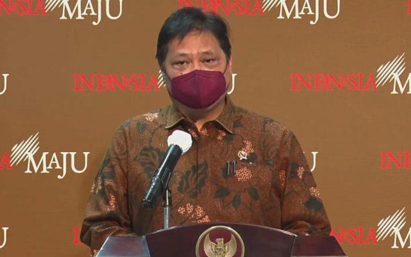 Menteri Koordinator Bidang Perekonomian Airlangga Hartarto / Youtube Sekretariat Presiden RI