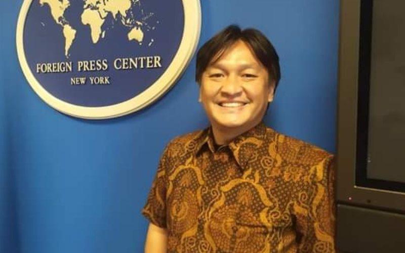 Stefanus Arief Setiaji, mahasiswa Program Magister Ilmu Komunikasi Univesitas Mercu Buana Jakarta.