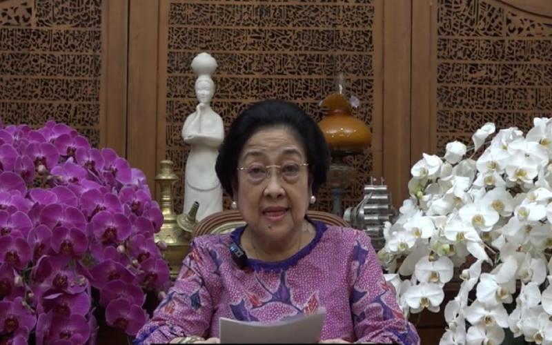 Presiden Ke-5 RI Megawati Soekarnoputri . - Istimewa