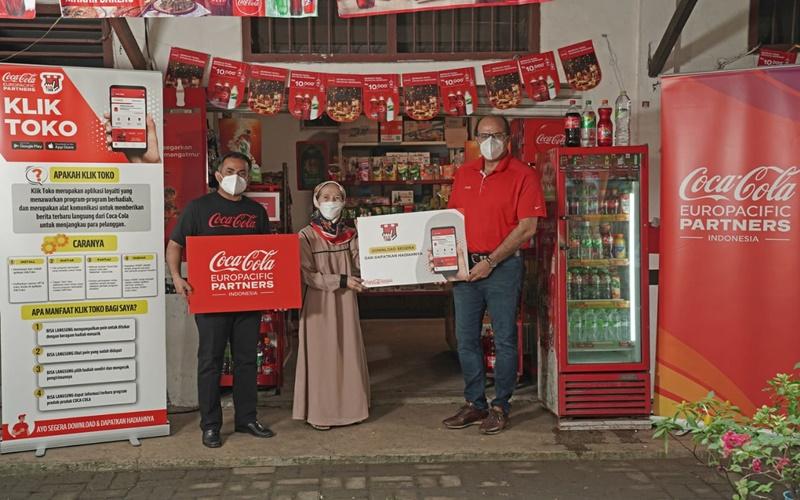 Aplikasi digital Coca Cola