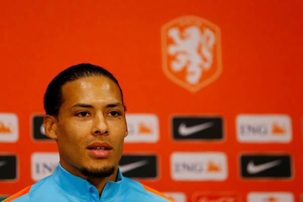 Pemain Timnas Belanda Virgil van Dijk - Reuters