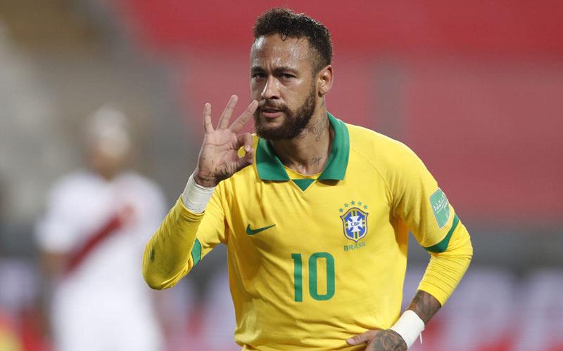 Ujung tombak Timnas Brasil Neymar da Silva Santos Jr. - FIFA.com