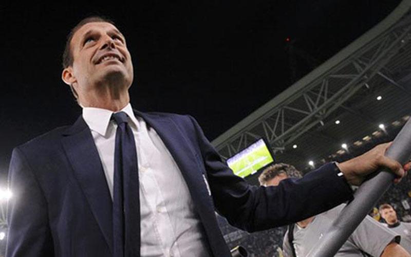 Pelatih Juventus Massimiliano Allegri./Reuters - Giorgio Perottino