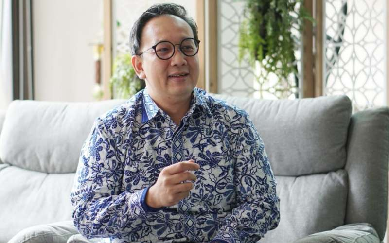 Senior Vice President Corporate Communication & Investor Relation Telkom Indonesia Ahmad Reza - istimewa