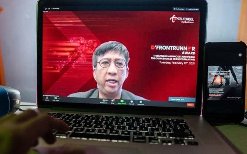 Direktur Utama Telkomsel Hendri Mulya Syam. ANTARA - HO/Telkomsel