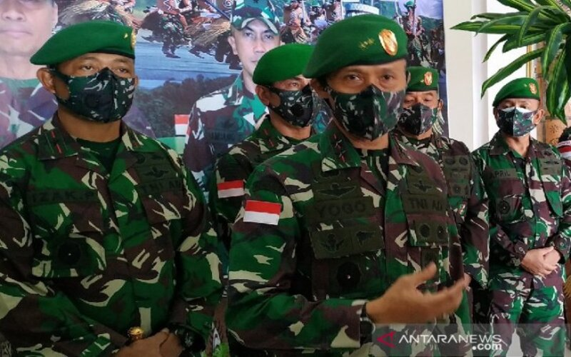 Pangdam XVII Cenderawasih Mayjen TNI Ignatius Yogo Triyono. - Antara/Evarukdijati.