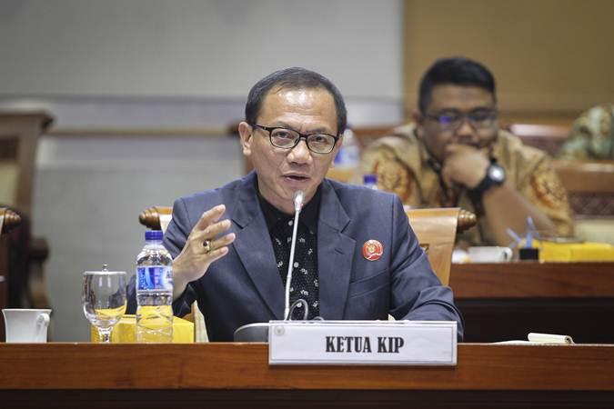 Ketua Komisi Informasi Pusat (KIP) Gede Narayana./Antara - Dhemas Reviyanto