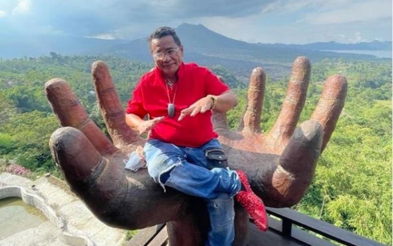 Pengacara kondang Hotman Paris di Bali - @hotmanparisofficial