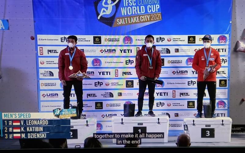 2 atlet panjat tebing yang raih kejuaraan dunia