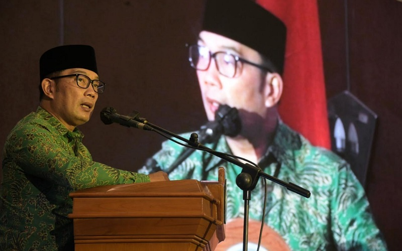 Gubernur Jabar Ridwan Kamil