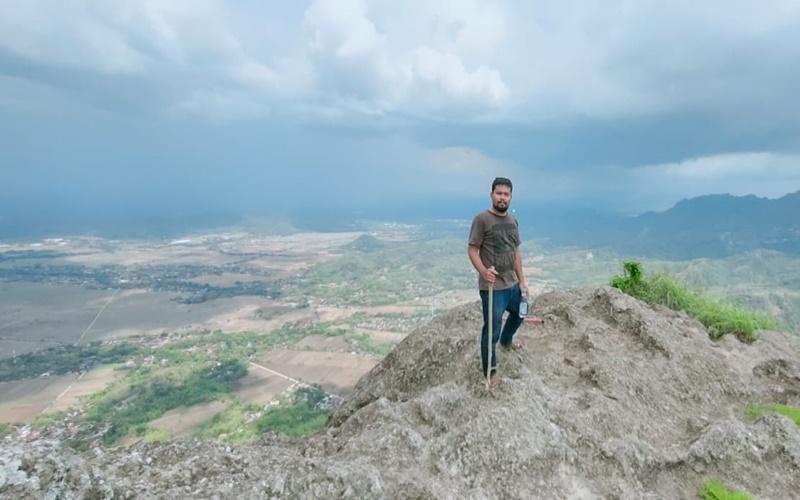 Wisata alam Gunung Gajah Mungkur