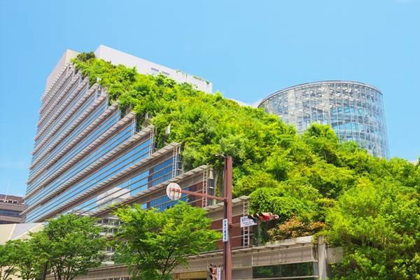 Gedung ramah lingkungan (green bulding) - Istimewa