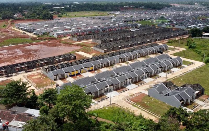 Perumahan di Cileungsi, Kabupaten Bogor, Jawa Barat. - Istimewa